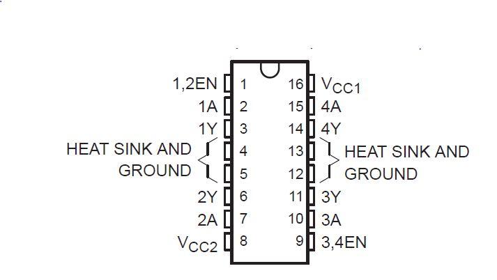electronics  sn754410