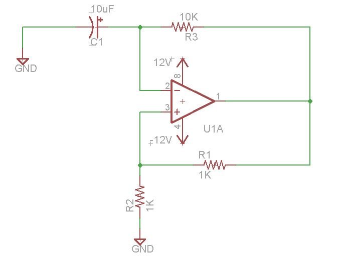 relaxation oscillator using op amp